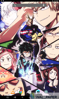 My Hero Academia Live Wallpaper - a cool phone wallpaper for Android - Screenshot #3