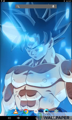 Epic Goku Live Wallpaper - a cool phone wallpaper for Android - Screenshot #1