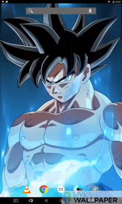 Epic Goku Live Wallpaper - a cool phone wallpaper for Android - Screenshot #2