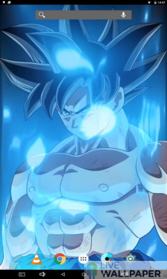Epic Goku Live Wallpaper - a cool phone wallpaper for Android - Screenshot #3