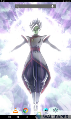 Zamasu Fused Live Wallpaper - a cool phone wallpaper for Android - Screenshot #1