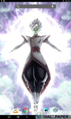 Zamasu Fused Live Wallpaper - a cool phone wallpaper for Android - Screenshot #2