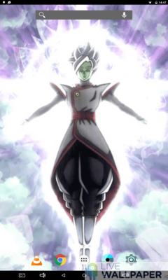 Zamasu Fused Live Wallpaper - a cool phone wallpaper for Android - Screenshot #3