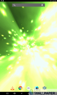 Hyperspace Live Wallpaper - a cool phone wallpaper for Android - Screenshot #2