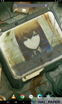 Steins Gate 0 Live Wallpaper - a cool phone wallpaper for Android - Screenshot #3