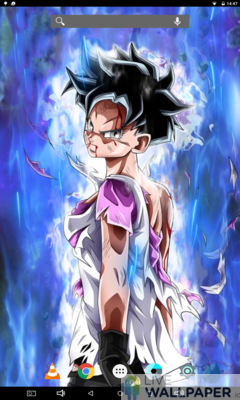 Videl Live Wallpaper - a cool phone wallpaper for Android - Screenshot #1