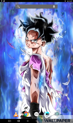 Videl Live Wallpaper - a cool phone wallpaper for Android - Screenshot #3