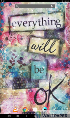 Everything Will Be OK Live Wallpaper - a cool phone wallpaper for Android - Screenshot #1