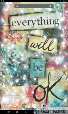 Everything Will Be OK Live Wallpaper - a cool phone wallpaper for Android - Screenshot #2