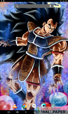 Raditz Live Wallpaper - a cool phone wallpaper for Android - Screenshot #1