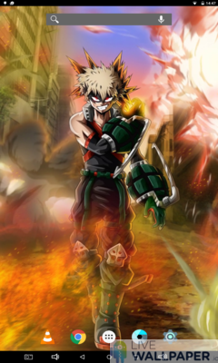 Bakugo Live Wallpaper - a cool phone wallpaper for Android - Screenshot #2