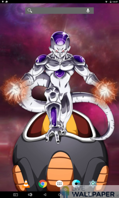 Majestic Frieza Live Wallpaper - a cool phone wallpaper for Android - Screenshot #1
