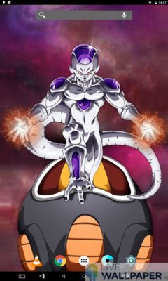 Majestic Frieza Live Wallpaper - a cool phone wallpaper for Android - Screenshot #3