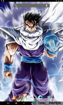 Ultimate Gohan Live Wallpaper - a cool phone wallpaper for Android - Screenshot #1
