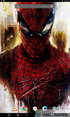 Spiderman Live Wallpaper Collection - a cool phone wallpaper for Android - Screenshot #2