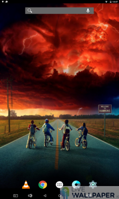 Stranger Things Live Wallpaper Collection - a cool phone wallpaper for Android - Screenshot #1