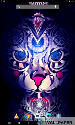 Ancient Cat Live Wallpaper - a cool phone wallpaper for Android - Screenshot #1