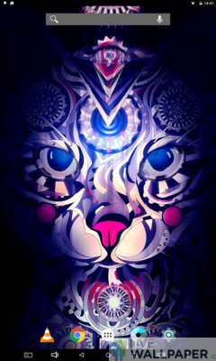 Ancient Cat Live Wallpaper - a cool phone wallpaper for Android - Screenshot #3