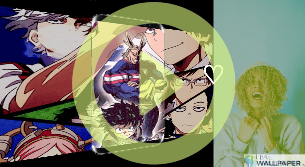 My Hero Academia Live Wallpaper | App Store for Android ...