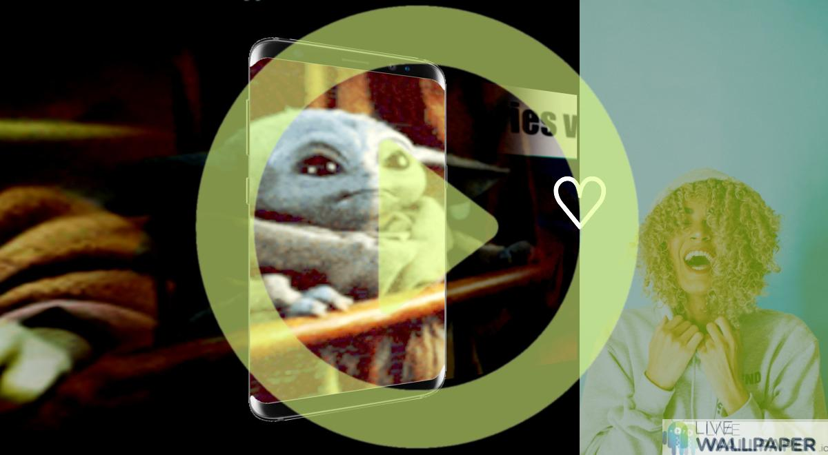 Baby Yoda GIF Live Wallpaper Pack | App Store for Android ...