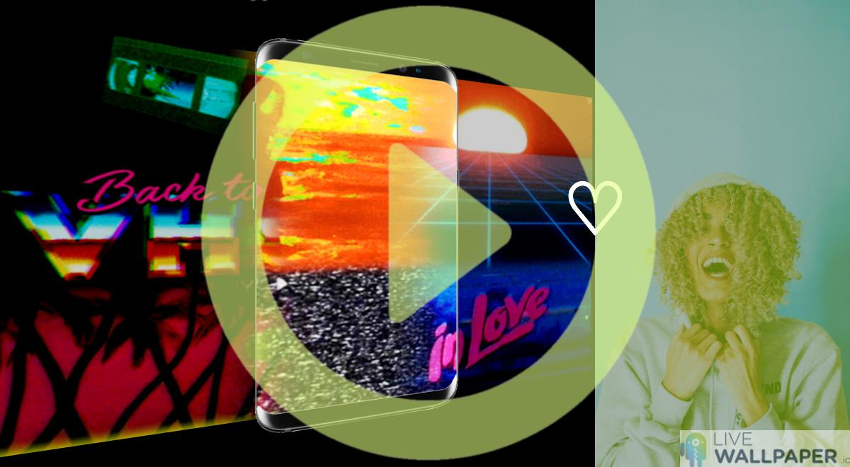 VHS GIF Live Wallpaper Pack | App Store for Android ...