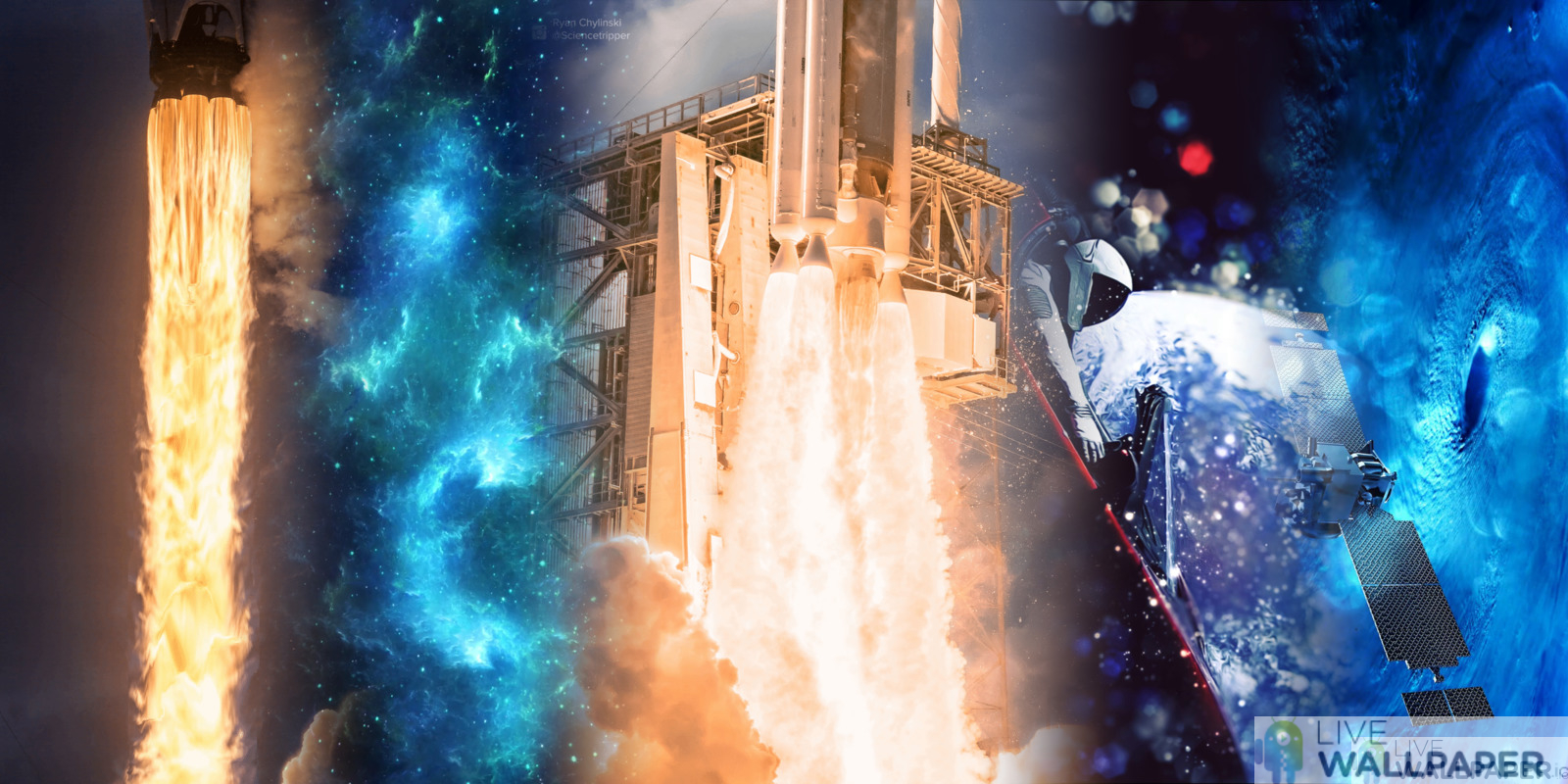5 cool live wallpapers tagged with SpaceX, sorted by date ...